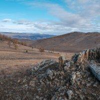 На холмах Тажеранской степи. :: Rafael