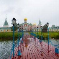 Валдай. Иверский мужской монастырь :: Олег Oleg