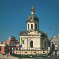 Храм-часовня Бориса и Глеба на Арбатской площади :: anderson2706
