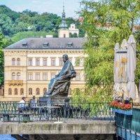 Памятник композитору Бедржиху  Сметане в Праге :: Eldar Baykiev