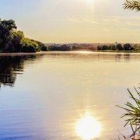Река и ее водная гладь.. :: Юрий Стародубцев