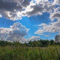 Небо августа... :: Владимир Жданов