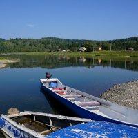 Утро на реке МрасСу :: Наталия Григорьева