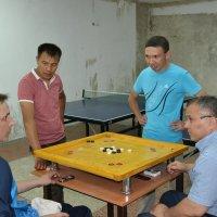 Первые соревнования по  каррому в  Караганде. :: Андрей Хлопонин