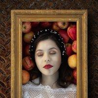 Портрет с яблоками :: Валерий Фролов