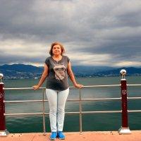Жена и море. :: веселов михаил