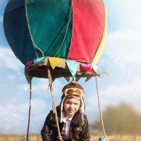 """Детский фотопроект """"На большом воздушном шаре"""" :: Светлана Тимошенина"""