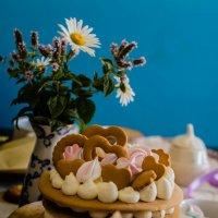 Открытый медовый торт с карамелью :: Наталья Татьянина