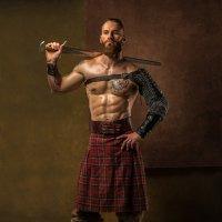 шотландский воин :: юрий затонов