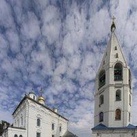 Небо над колокольней Введенского собора :: Михаил Николаев