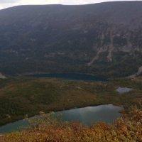 Ивановские озера.Малое ледниковое и Большое первое :: Любовь Иванова