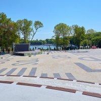 Железноводск. Городской парк. Парковое озеро. Концертная площадка :: Николай Николенко
