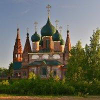 Церковь Иоанна Златоуста в вечернем свете :: Татьяна Каневская