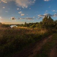 Сентябрьский закат. :: Виктор Евстратов