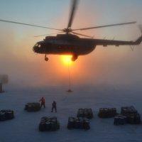 Выгрузка полярной станции. :: игорь кио