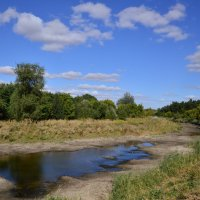Пересохшая река. :: Виктор