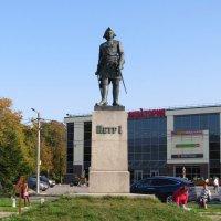 Памятник Петру Первому в Шлиссельбурге :: Вера Щукина