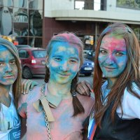 Фестиваль красок Холи :: Алексей