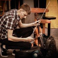 Street musician. :: Евгений Мокин