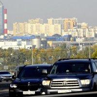 Вид на город с Пулковских высот  - 1 :: Сергей