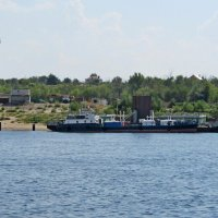 Грузовой флот на Волге :: Raduzka (Надежда Веркина)