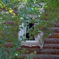 Окно в дом ,где жил Сергей Есенин :: Galina Solovova