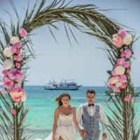 """Организация церемонии """"Grand Marine"""" за границей Хургада, Египет. :: Светлана Айед"""