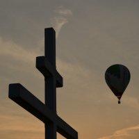 Воздухоплавание на закате... :: Владимир Павлов