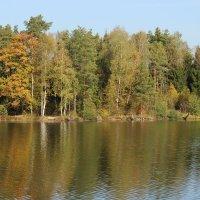 На осеннем озере :: Лидия Серг