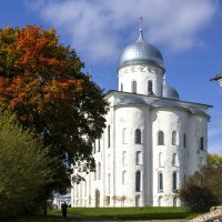 Свято-Юрьев мужской монастырь в Новгороде...11-12 вв. :: Cергей Павлович