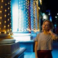 Сияние вечернего города :: Андрей Киселев