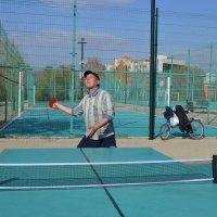 Железный теннис... :: Андрей Хлопонин