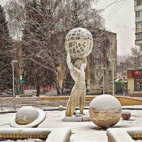 зимний фонтан :: юрий иванов