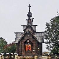 Храм-часовня в честь Архангела Михаила в Дунино :: Евгений Кочуров