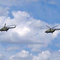 Красивым вертолётам-красивое небо!) :: Анастасия Косякова