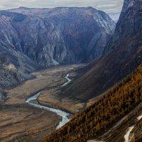 Горный Алтай. Перевал Кату - Ярык (тесная расщелина) :: Андрей К