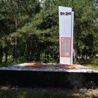 Каменоломни. Памятник железнодорожникам, погибшим в Великую Отечественную войну. :: Пётр Чернега