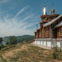 Церковь Преображения Господня в Порт-Байкале. :: Rafael