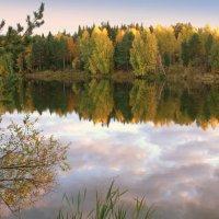 Осенний закат :: Нэля Лысенко
