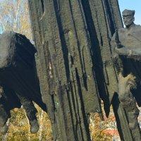 Памятник польско-советскому братству по оружию (центральная часть памятника) :: Александр Буянов