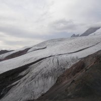Ледник горы Эльбрус :: Анна Воробьева