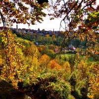 Золотая осень в  Ротенбурге  на Таубере :: backareva.irina Бакарева