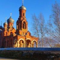 Владимирская церковь в Михайловом погосте Псковская область :: Владимир Павлов