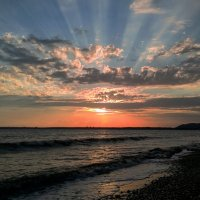 Закат над Пицундой :: Yury Mironov