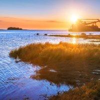 Белое море и закат :: Юлия Батурина