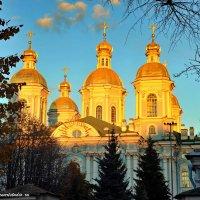 Никольский храм в закате :: Игорь Корф