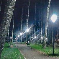Вечерний парк. :: Олег Пучков