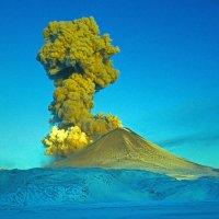 Извержение вулкана :: Владимир Глазков