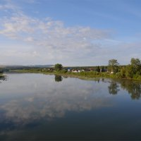 река Чулым возле поселка Балахта (Красноярский край) :: Татьяна Соловьева