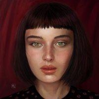 Портрет Alice Pagani :: Наталия Львова